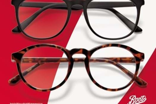 BOOTS OPTICIANS 2 FOR £60